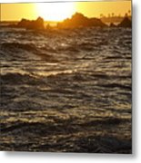 Sunset Summer 2009 Metal Print