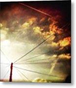 #sunset #sun #tagsforlikes.com #tflers Metal Print