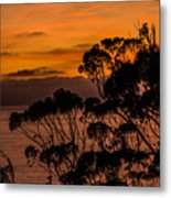 Sunset /torrey Pines Image 2 Metal Print