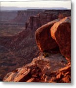 Sunset Tour Valley Of The Gods Utah Vertical 01 Metal Print