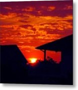 Sunset Va 4717 Metal Print
