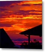 Sunset Va 4736 Metal Print
