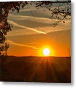 Sunset Vienna West Virginia Metal Print