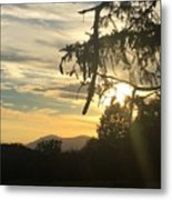 Sunset View From Olana  Metal Print