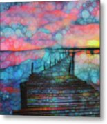 Sunset View Metal Print
