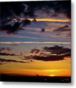 Sunset Vista Metal Print