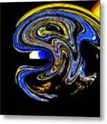 Sunset Wave Metal Print