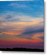 Sunset Windsor Illinois Metal Print