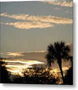 Sunsets In The West Metal Print