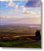 Sunsets Over The Irish Midlands Metal Print