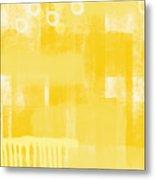 Sunshine- Abstract Art Metal Print