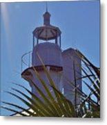 Sunshine At The Lighthouse Metal Print