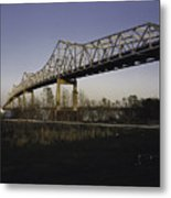 Sunshine Bridge Metal Print