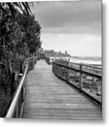 Sunshine Coast Boardwalk  Metal Print