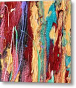 Sunshine Coast Colorful Abstract  Metal Print