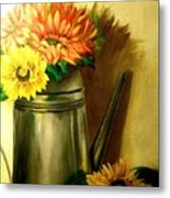 Sunshine In A Can Metal Print
