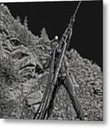 Sunshine Mine Fire Monument - Idaho State Metal Print