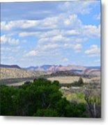 Sunshine On The Mountains - Verde Canyon Metal Print