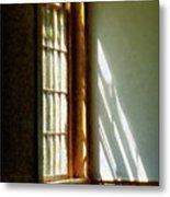Sunshine Streaming Through Window Metal Print