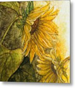 Sunworshippers I Metal Print