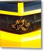 Super Bee Camaro Grill Metal Print