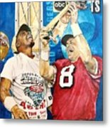 Super Bowl Legends Metal Print