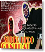 Super Hero Central Metal Print
