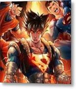 Super Heros  Metal Print