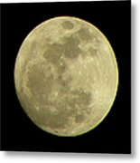 Super Moon March 19 2011 Metal Print