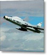 Super Sabre North American F-100  Metal Print