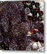 Super Small Grapes Metal Print