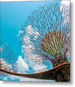 Super Tree Grove- Gardens By The Bay Metal Print