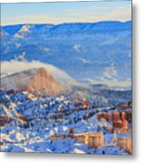 Superb View Of Sunset Point, Bryce Canyon National Park Metal Print