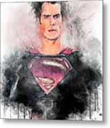 Superhero Metal Print