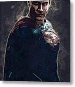 Superhero.superman. Metal Print