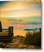 Superior Horizon Metal Print
