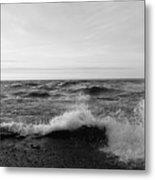 Superior Waves Metal Print