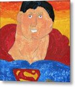 Superman Metal Print by Don Larison