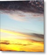 Supernatural Sunset One Metal Print