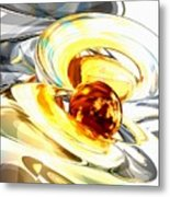 Supernova Abstract Metal Print