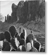 Superstition Mountain 2 Metal Print