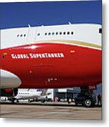 Supertanker At Colorado Springs Metal Print
