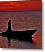 Support Commercial Fishermen 6 411 Metal Print