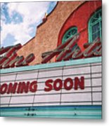 Support The Arts Metal Print