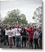 Supporters Metal Print