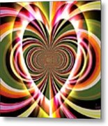 Supportive Heart Metal Print
