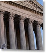 Supreme Court Building Metal Print
