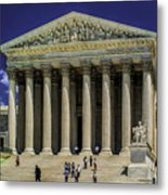 Supreme Court Of The United States Metal Print