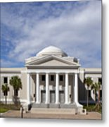 Supreme Courthouse In Tallahassee Florida Metal Print