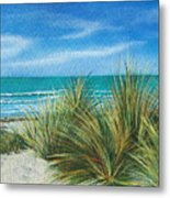 Surf Beach Metal Print